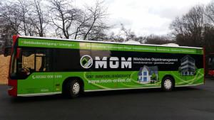 MOM Buswerbung