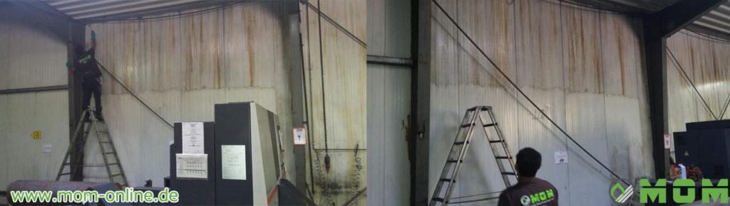 Industrieservice - Industriereinigung, Hallenreinigung