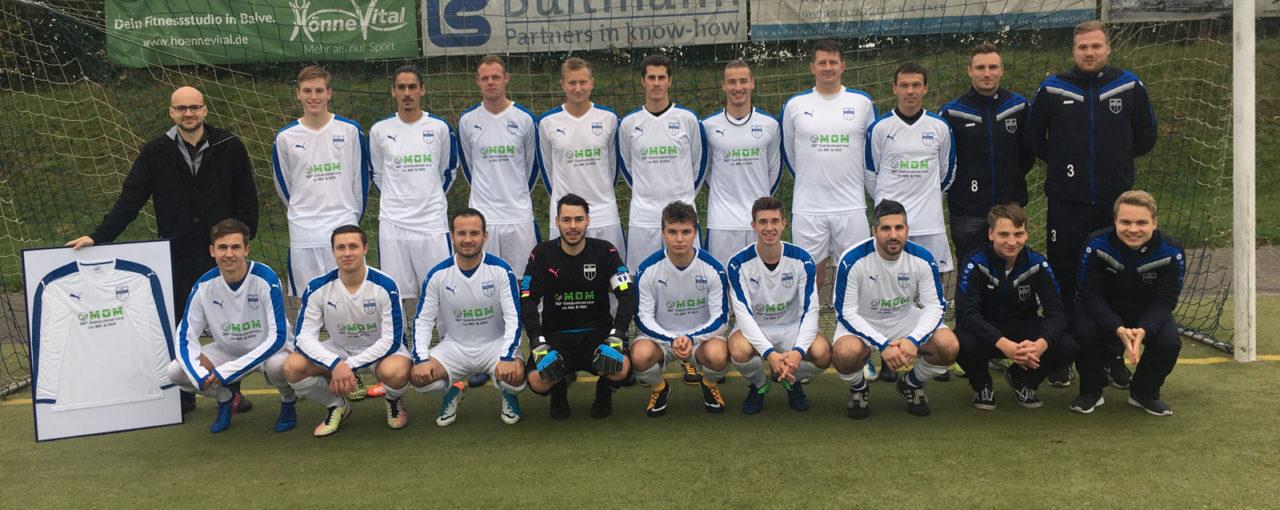 Trikot-Sponsoring an 1. Mannschaft des SV Affeln 28